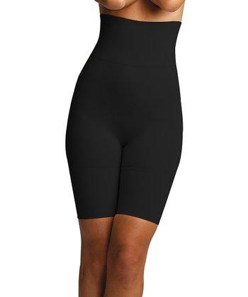 020ac92cc579 Black Firm Compression High-Waist Shaper Shorts - Women & Plus