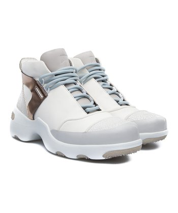 5d0a4258d676d White   Taupe Gemma Leather Sneaker - Women