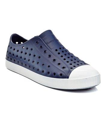 Navy Zissi Slip-On Sneaker - Kids