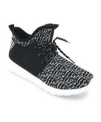 0bab332fe80c9 Black   White Easy Hi-Top Sneaker - Women
