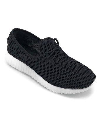 a823e949d2bf8 Black   White Mesh Easy Sneaker - Women