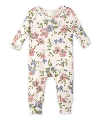 785e423f7 White Quaint Floral Playsuit - Newborn & Infant