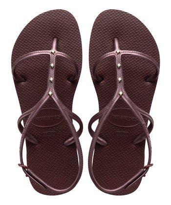 a1c654608 Grape Wine Allure Sandal - Women