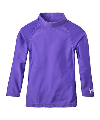 751fbc8e Purple Long-Sleeve Rashguard - Infant, Toddler & Girls