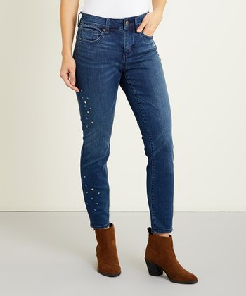 2b728f980c1 Pioneer Ami Bling Skinny Ankle Jeans - Women