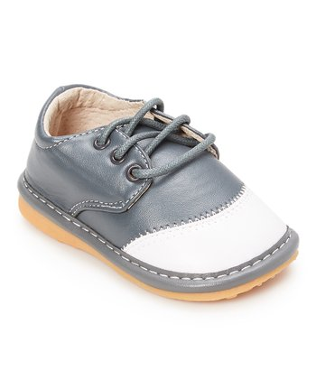 361d99d139 Gray   White Toe-Capped Squeaker Shoes - Boys