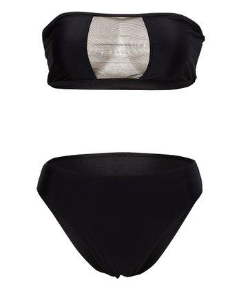bc0448a347c17 Black Frankie Bandeau Bikini - Women