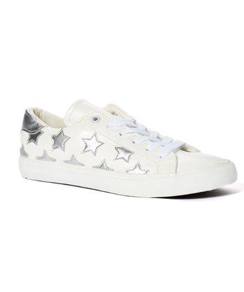 4d62e5f5b780 Silver   White Star Sneaker - Women