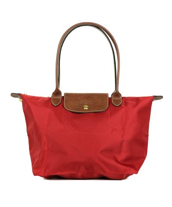 Natural Effrontée Leather Crossbody Bag · Red Le Pliage Small Tote 71785130cd