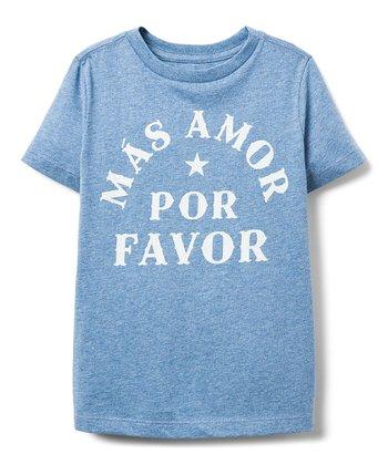 Cadet Blue Mas Amor Por Favor Tee Boys