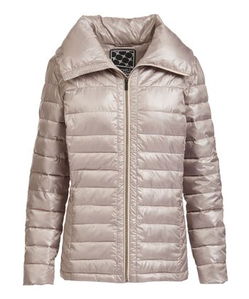 bd7d5e0ef58 Putty Quilted Puffer Coat - Women