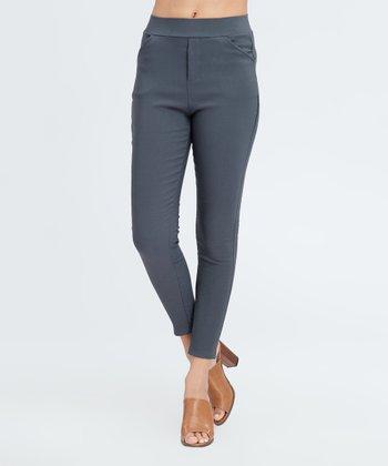 ca5b3455df14f Charcoal Fleece-Lined Leggings - Women