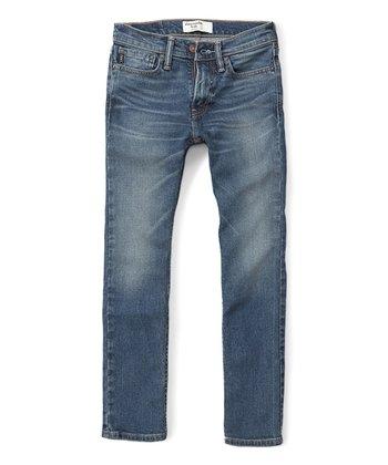 f9ec20297974 Medium Blue Skinny Jeans - Boys