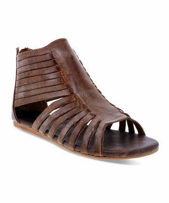 52f5f9f6e21 Brown Pearl Leather Sandal - Women