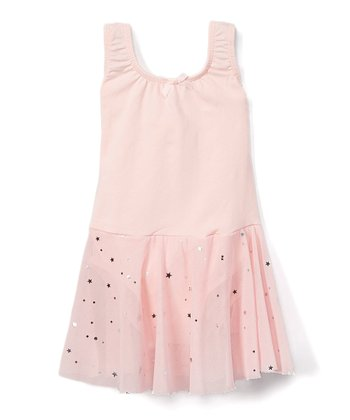 bff260c1f7a Pink Sequin Bow Skirted Leotard - Toddler & Girls