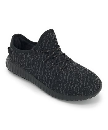 23838ada94681 Black   Gray Abstract Easy Sneaker - Women