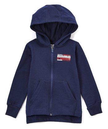 f2ae9a88ffe9 Navy  Puma  Fleece Zip-Up Hoodie - Toddler   Boys