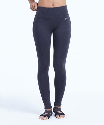 8cf3ca0898845b Heather Charcoal 27   Camille Tummy-Control Mid-Rise Leggings - Women ·  Black Camille Butt ...