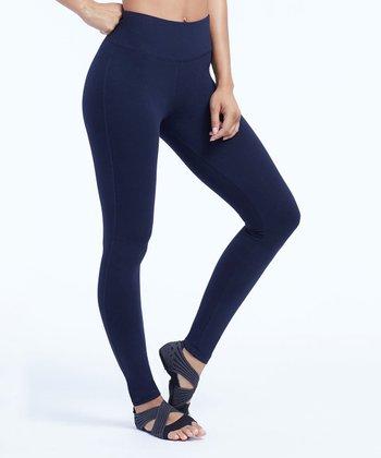 1232e378b24f93 Midnight Navy Camille Tummy Control 27   Leggings - Women