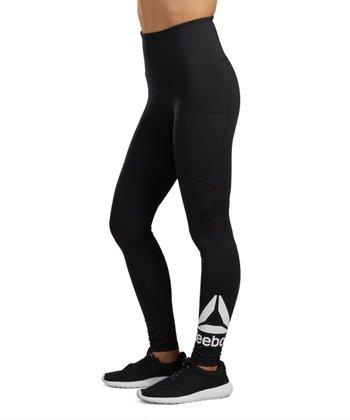 b45947f973229e Black Transcend High-Waist Crop Pocket Leggings - Women. «