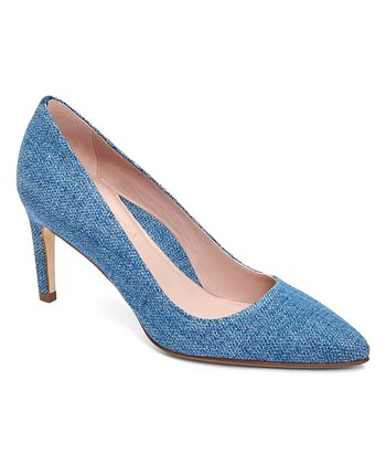840708e7de8 Light Blue Gabriela Suede Pump - Women