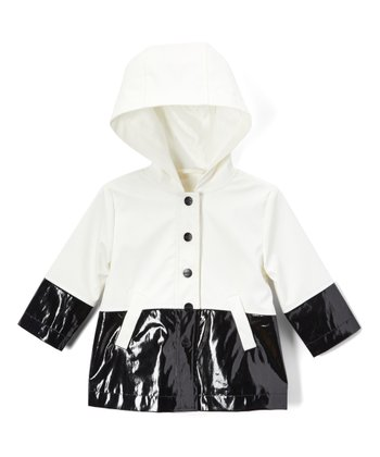 Urban Republic Kids Baby Girls Raincoat Color Block Jacket Infant//Toddler