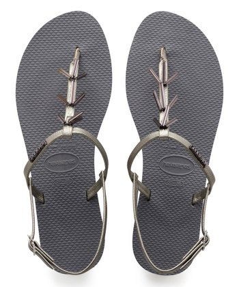 c98f22d1a Steel Gray Star-Accent You Riviera Sandal - Women