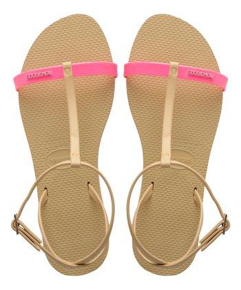 417ff43e7 Shocking Pink You Belize T-Strap Sandal - Women