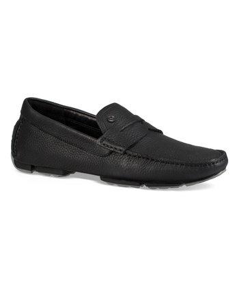 4c3c40e5f4 Black Bel-Air Leather Penny Loafer - Men