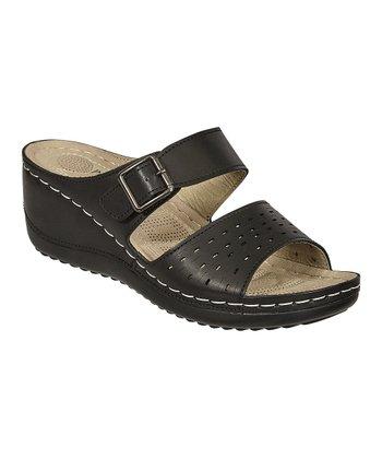 b0611bc87077 Black Maddy Wedge Sandal - Women