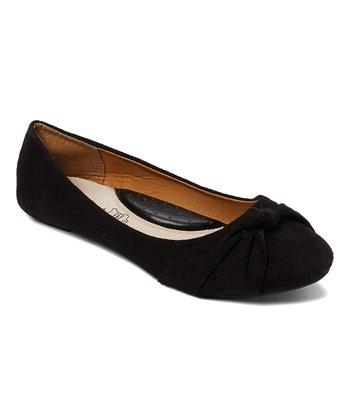 5fef46852873 Black Knot Ballet Flat - Women