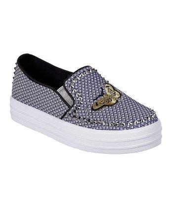 6beb18e06839 Navy   White Fly Free Double Up Slip-On Sneaker - Women