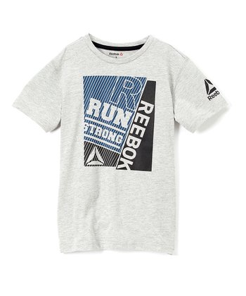 cecf420413d White Heather Gray Art Tee - Boys · Black   ...