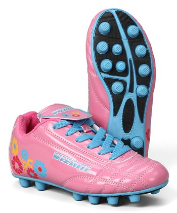 732b61d6076 Pink   Blue Blossom Cleat - Girls
