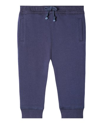 1c8fabb7a ... Pants - Girls. Navy Mini Mercer Organic Cotton Joggers - Infant