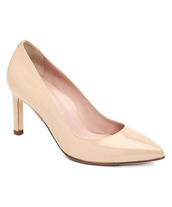 7da656b8715 Nude Gabriela Leather Pump - Women