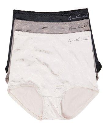 ead8be54e6 Gray   Pebble Shaper Panty Set - Women