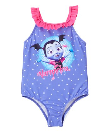 16e692516f My Little Pony Rainbow Stripe One-Piece Bathing Suit - Toddler. Vampirina  Polka-Dot One-Piece - Toddler