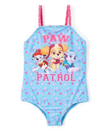 ea9eebc148 PAW Patrol Paw Print One-Piece Swimsuit - Toddler