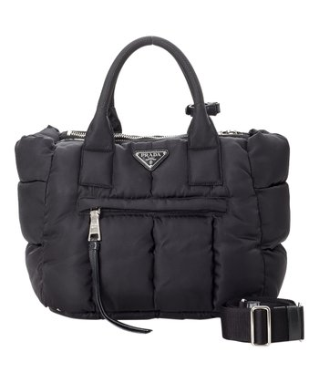 a5d00ec8d Pre-Owned Black Tessuto Two-Way Nylon Tote