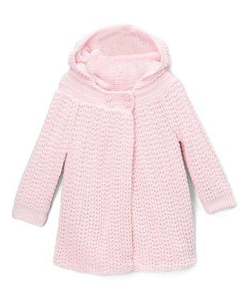 4ddacf20d Pink Knit Hooded Cardigan - Infant