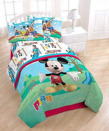 Jay Franco And Sons 179 Results Mickey Mouse Green Blue Play All Day Cotton Rich Sheet Set
