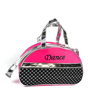 23321f79fb2 Hot Pink 'Dance' Half-Moon Quilted Bag