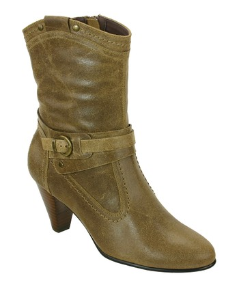 d4559c18ac2 Taupe Columbia Leather Boot - Women