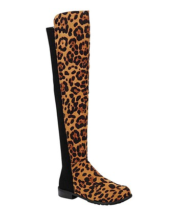 576a966cd6b Leopard Iconic Over-the-Knee Boot - Women