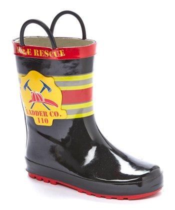 34904643ff3b ... LILLY of NEW YORK 90 results. Black Fireman Rain Boot - Boys