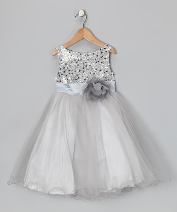 fbe3fbf1200 ... Kid s Dream 94 results. Red Sequin Overlay Dress - Girls · Silver  Sequin Tulle A-Line Dress - Infant