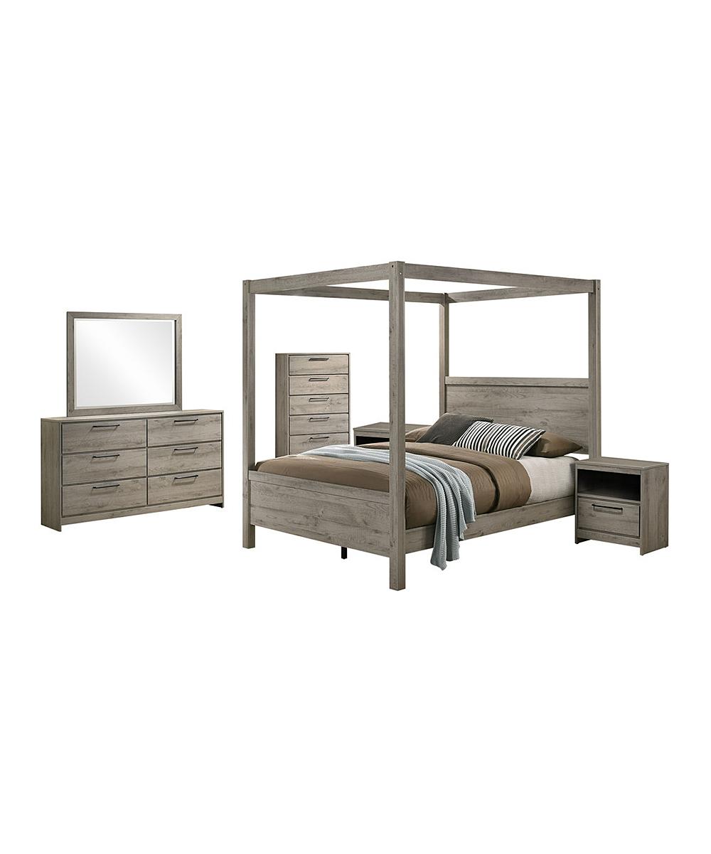Six-Piece Manhattan Bedroom Furniture Set