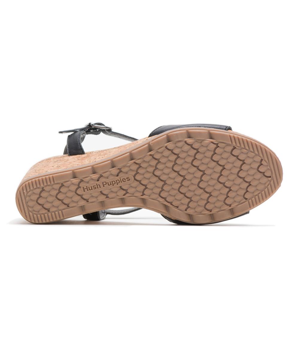 6046b4aa4a798 ... Womens BLACK LEATHER Black Leather Pekingese T-Strap Sandal - Alternate  Image 5