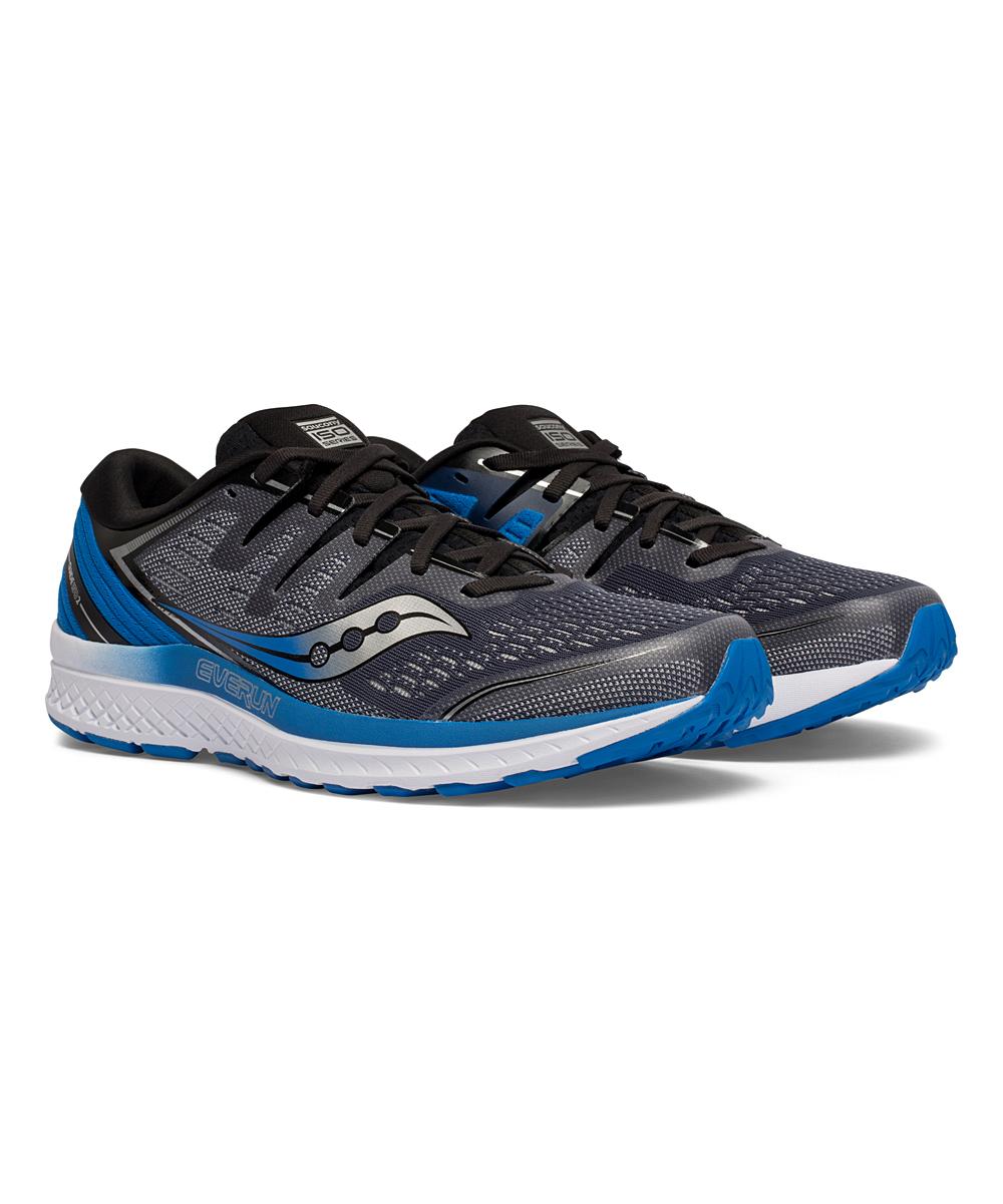 Saucony Men's Running Shoes SLA/BLU - Slate & Blue Guide ISO 2 Running Shoe - Men